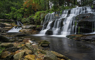 Photograph - Mill Shoals Falls by Reid Northrup