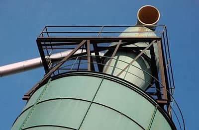 Photograph - Mill Stack by Bill Kellett