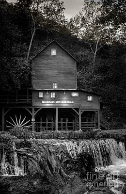 Old Mills Photograph - Mill Stream - Evening by Robert Frederick