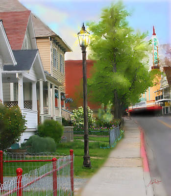 Digital Art - Mill Street by Lisa Redfern