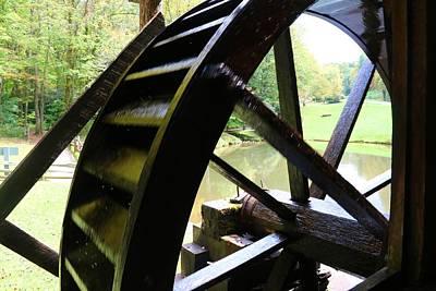 Photograph - Mill Wheel by Kathryn Meyer