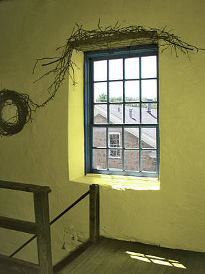 Photograph - Mill Window by Arthur Fix
