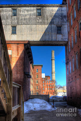 Photograph - Mill Yard by David Bishop