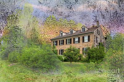 Millard Valle House  Art Print
