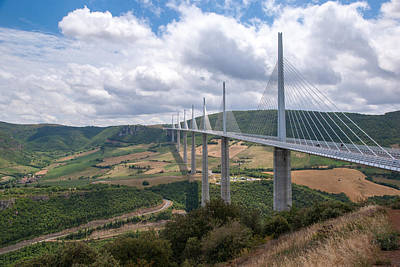 Photograph - Millau Viaduct by Rod Jones
