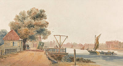Painting - Millbank by David Cox