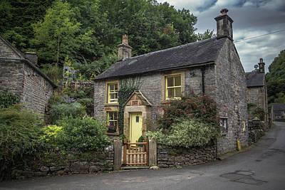 Derbyshire Photograph - Milldale Cottage by Chris Fletcher