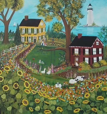 Painting - Millefiori by Virginia Coyle