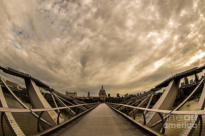 Millennium Bridge Art Print