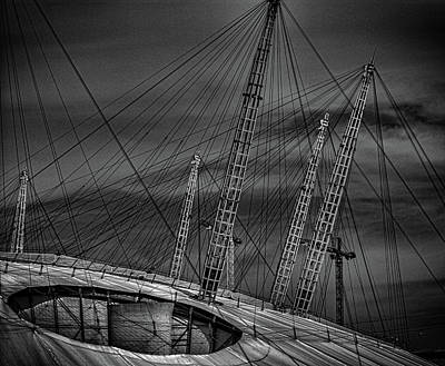 Greenwich Photograph - Millenium Dome by Martin Newman