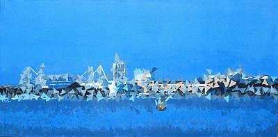 Painting - Millenium Stadium by Frank Hamilton