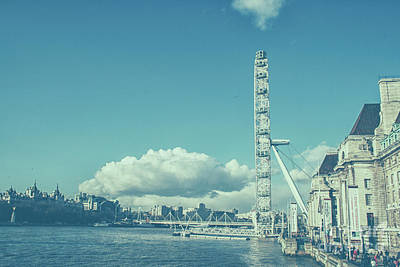 Photograph - Millenium Wheel In London by Patricia Hofmeester