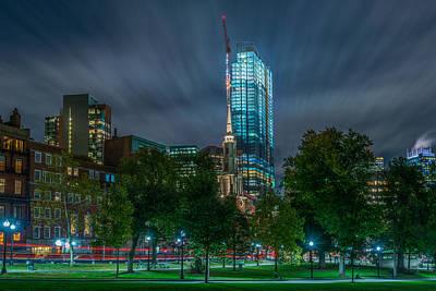 Photograph - Millennium Construction by Bryan Xavier