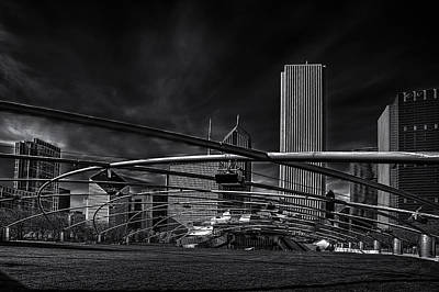Frank Gehry Photograph - Millennium Park In Chicago by Andrew Soundarajan