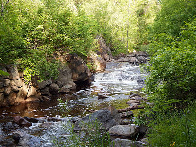 Duluth Photograph - Miller Creek by Alison Gimpel