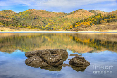 Photograph - Miller Flat Reservoir by Spencer Baugh