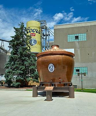 Photograph - Millercoors Brewery by L O C
