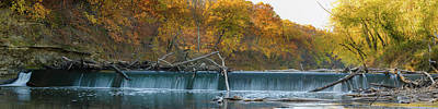 Photograph - Miller's Dam Pano by Jeff Phillippi