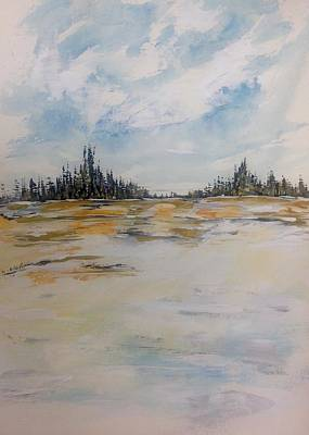 Painting - Miller's Interlake - Late Fall by Desmond Raymond
