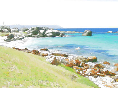 Digital Art - Miller's Point 2 by Jan Hattingh