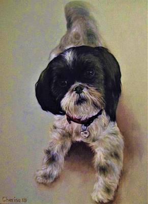 Painting - Millie by Cherise Foster