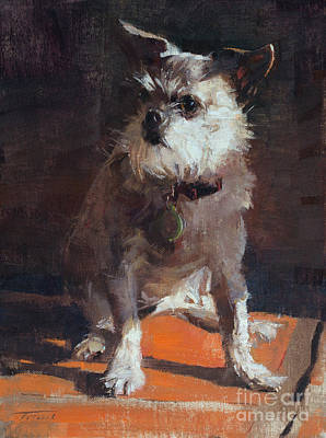 Wall Art - Painting - Millie by Patrick Saunders
