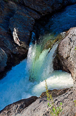 Photograph - Million Dollar Falls - Haines Highway by Cathy Mahnke