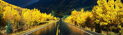 Million Dollar Highway Co Art Print by Panoramic Images