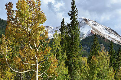 Photograph - Million Dollar Highway Mountains by Ray Mathis