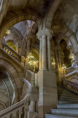 Photograph - Million Dollar Staircase by Brad Wenskoski