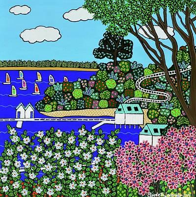 Painting - Millionaires Walk by Elizabeth Langreiter