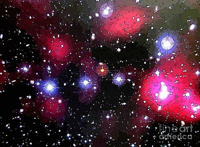 Deep Space Art Painting - Millions Of Light Years by John Malone