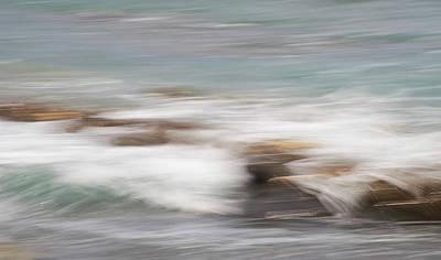 Photograph - Millook Tides Seven by Bear R Humphreys
