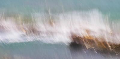 Photograph - Millook Tides Six by Bear R Humphreys