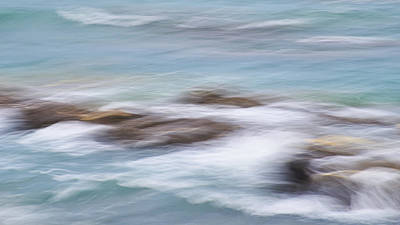 Photograph - Millook Waves One by Bear R Humphreys