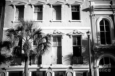 Photograph - Charleston Mills House Shadows by John Rizzuto