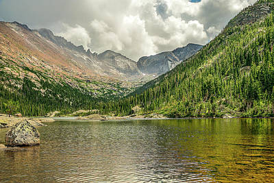 Photograph - Mills Lake 2 by Scott Cordell