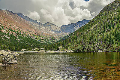 Photograph - Mills Lake by Scott Cordell
