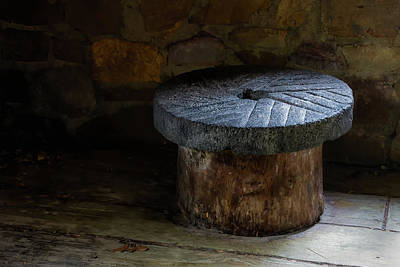 Photograph - Millstone by James Barber