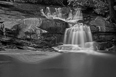 Photograph - Millstone River Falls - 365-63 by Inge Riis McDonald