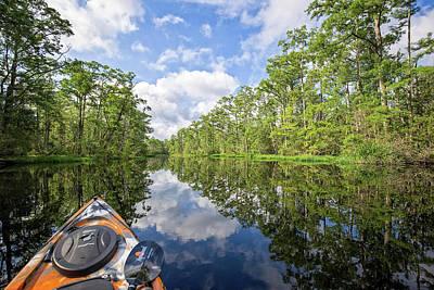 Photograph - Milltail Creek Nc by Alan Raasch