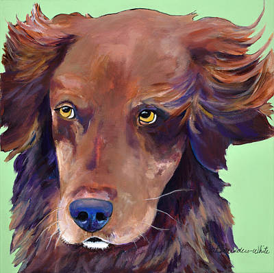 Painting - Milo by Pat Saunders-White