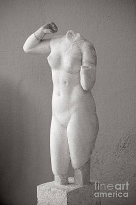 Milos Sculpture Art Print by Lionel F Stevenson