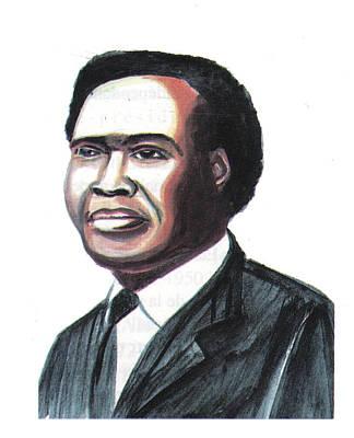 Milton Apolo Obote Art Print