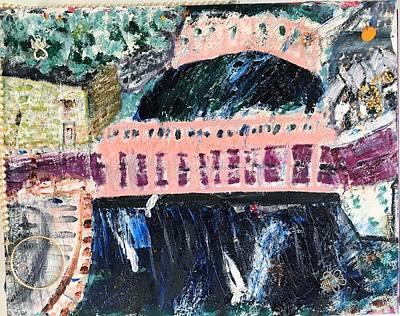 Painting - Milton Center by Leslie Byrne