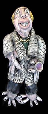 Ceramic Art - Milton by Judy  Hensley