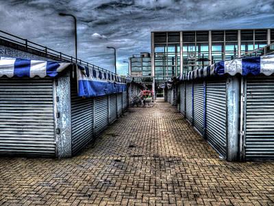 Milton Keynes Photograph - Milton Keynes Market by KonTrasts