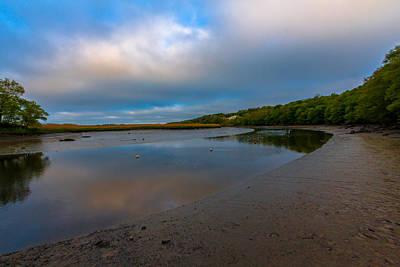 Cloud Like Glass Photograph - Milton Landing by Brian MacLean