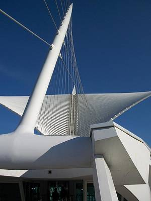 Milwaukee Art Museum Cropped Art Print