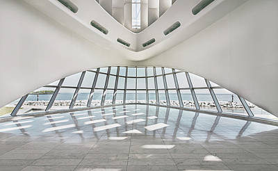 Photograph - Milwaukee Art Museum by Kim Hojnacki